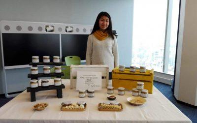 Emprendedora de la Cocina Comunitaria Til Til convirtió la proteína en mantequilla